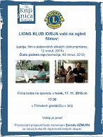 Filmski večer: Idrija, 17. november 2015