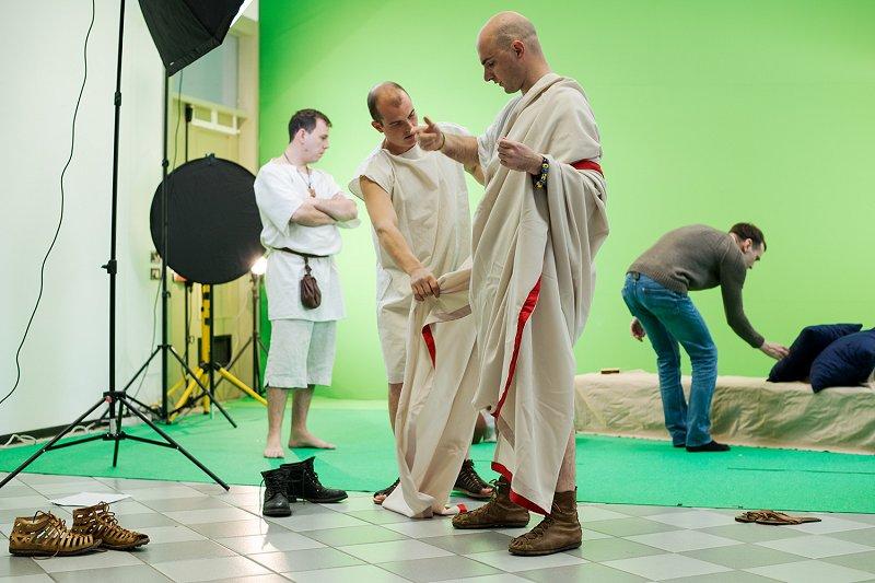 Rimljani v studiju (1)